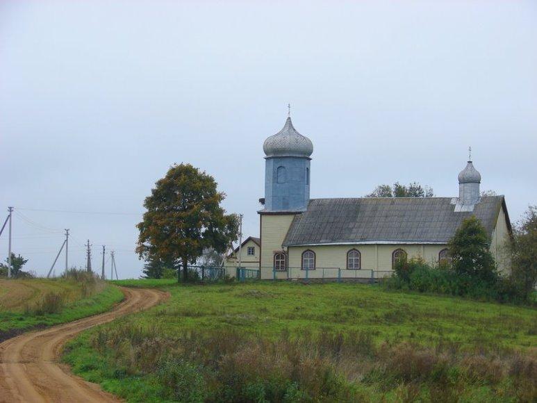 Apvogta Paežerių bažnyčia