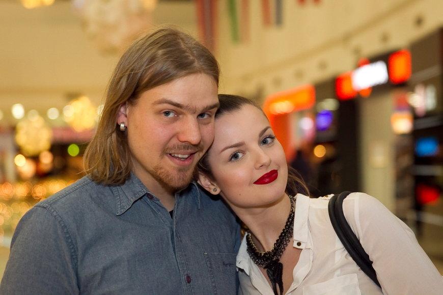 Robertas Kalinkinas ir Gabrielė Martirosianaitė