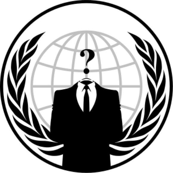 """""""Anonymous"""" organizacijos logotipas"""