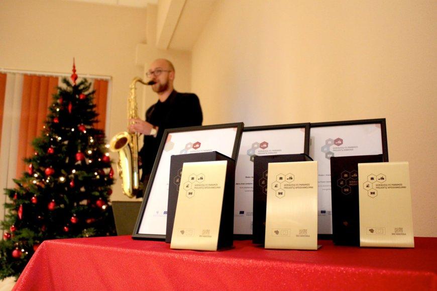 Akimirkos iš Jurbarke vykusio apdovanojimų renginio - geriausieji Tauragės regione