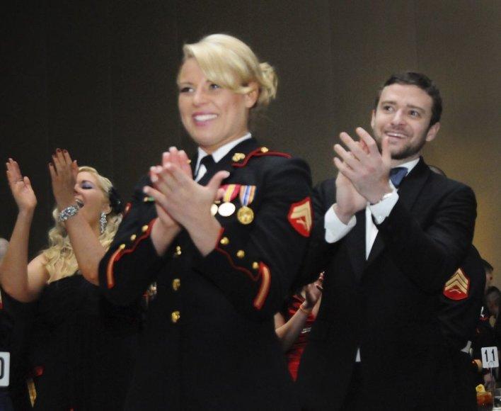 JAV jūrų pėstininkė