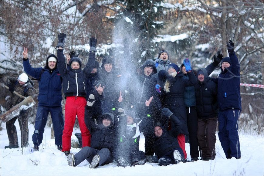 """Halls Winter Rally 2012"" renginio akimirka"