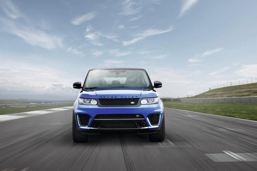 """Galingiausias istorijoje """"Land Rover"""": """"Range Rover Sport SVR"""""""