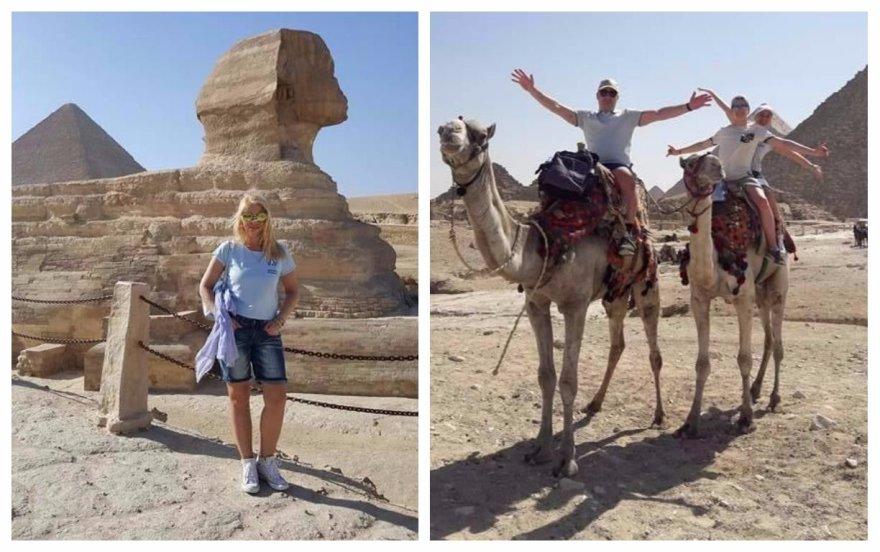 Vaidos Genytės atostogos Egipte