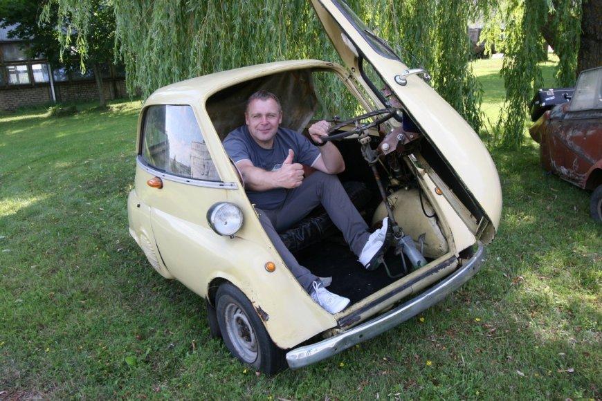 Mažų automobilių kolekcija