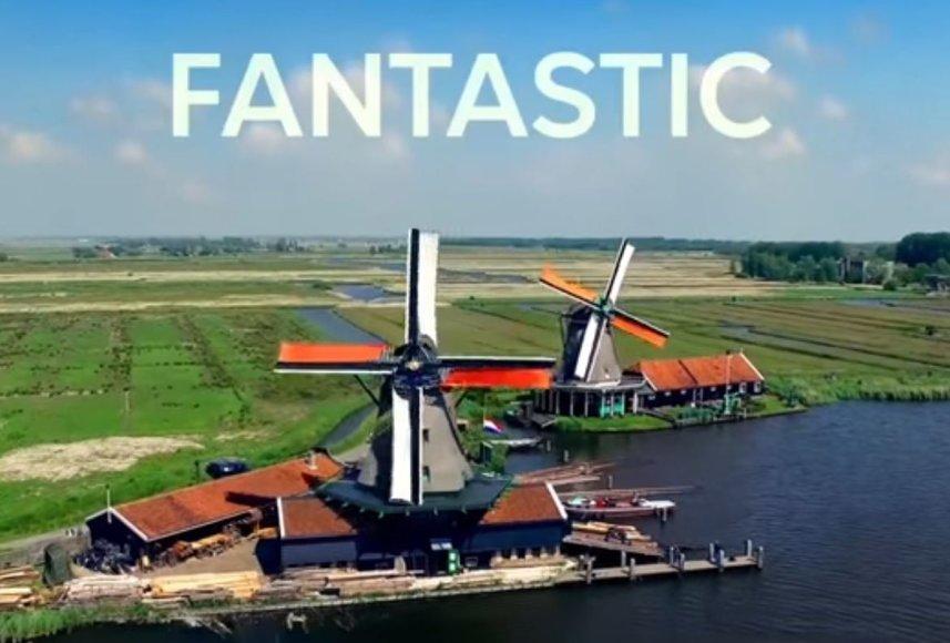 Olandai komikai pristatė satyrinį klipą apie Nyderlandus D.Trumpo stiliumi.