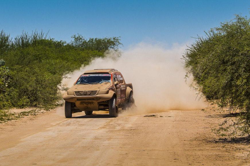 Dakaro ralio 2 greičio ruožas