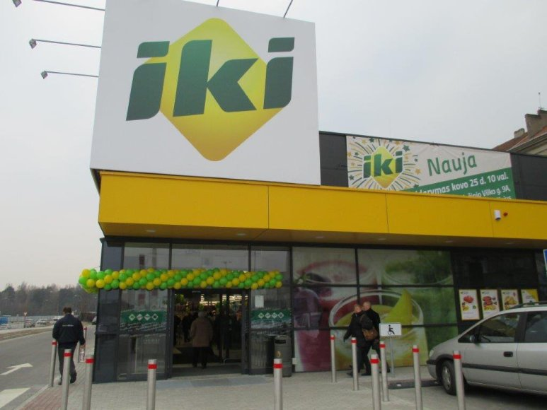 "Prekybos centras ""IKI"" Vilniuje"