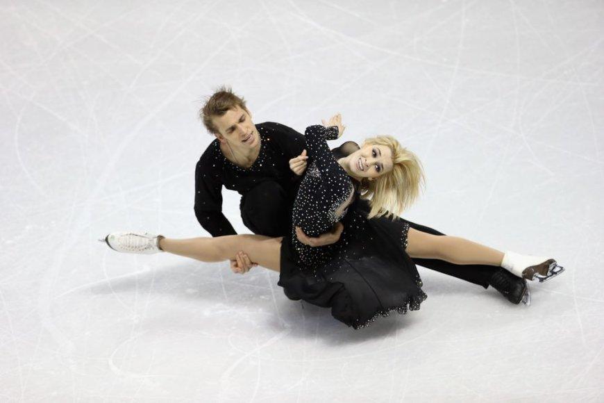 Deividas Stagniūnas ir Isabella Tobias