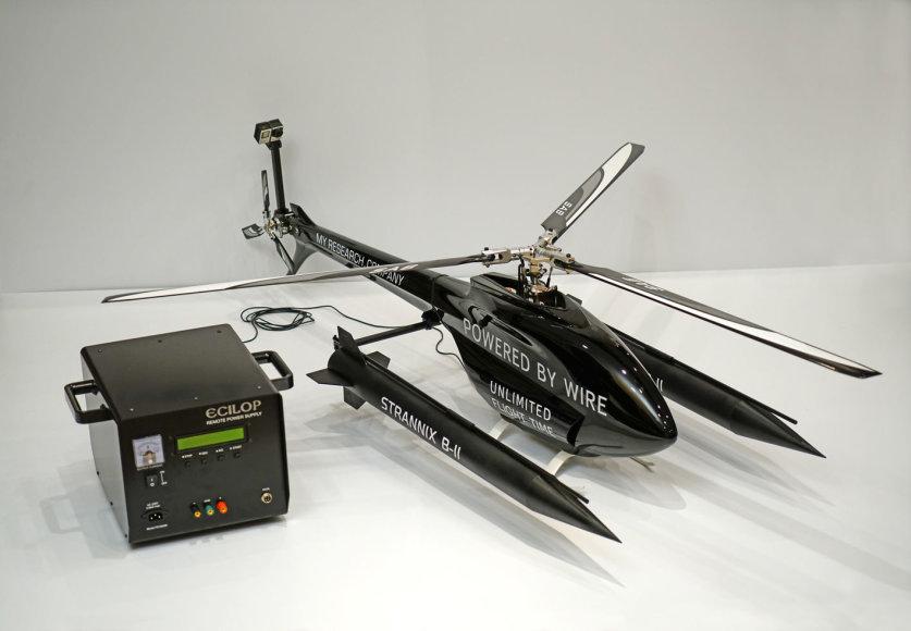 Aleksejaus Zaicevo nuotolinis elektros maitinimo šaltinis skraidymo aparatams