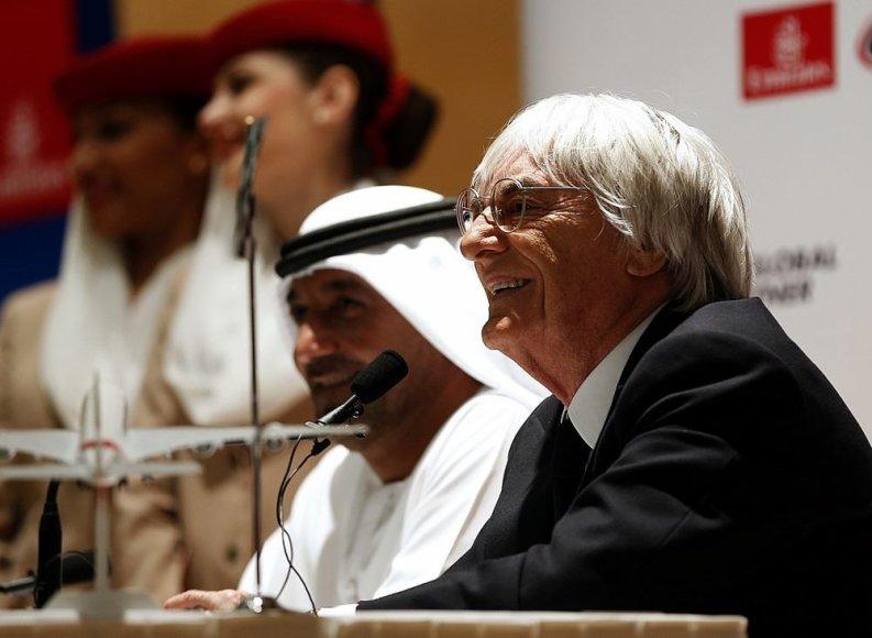 """Formulės-1"" bosas Bernie Ecclestone`as"
