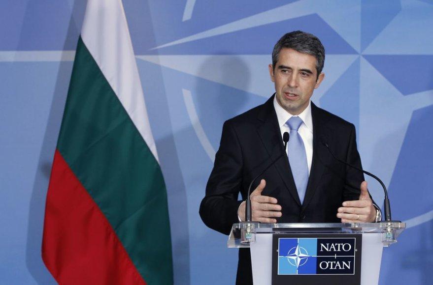 Bulgarijos prezidentas Rosenas Plevnelijevas