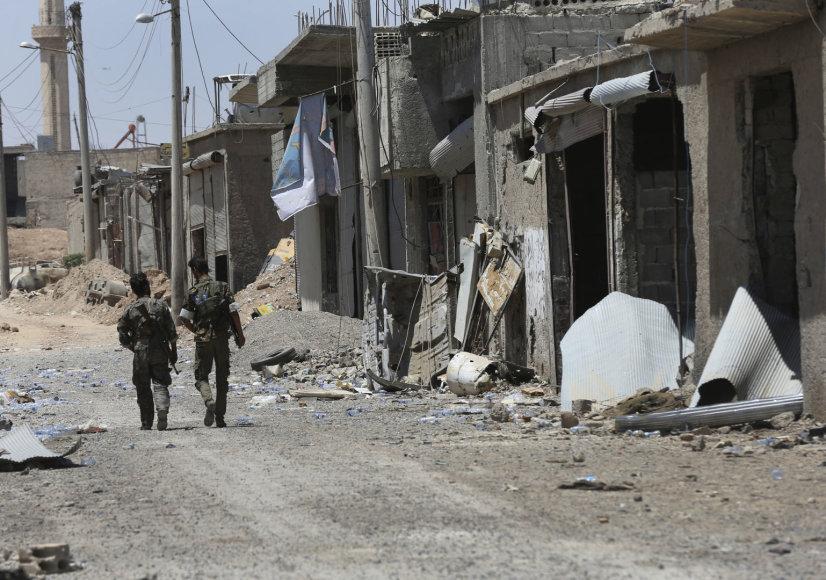Sirijos kovotojai Rakoje