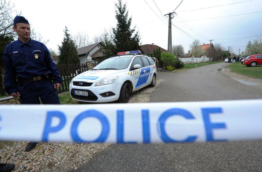 Vengrijos policija