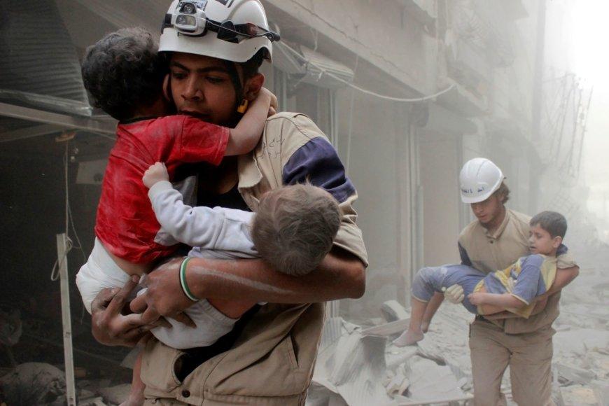 Bombardavimų Sirijoje pasekmės