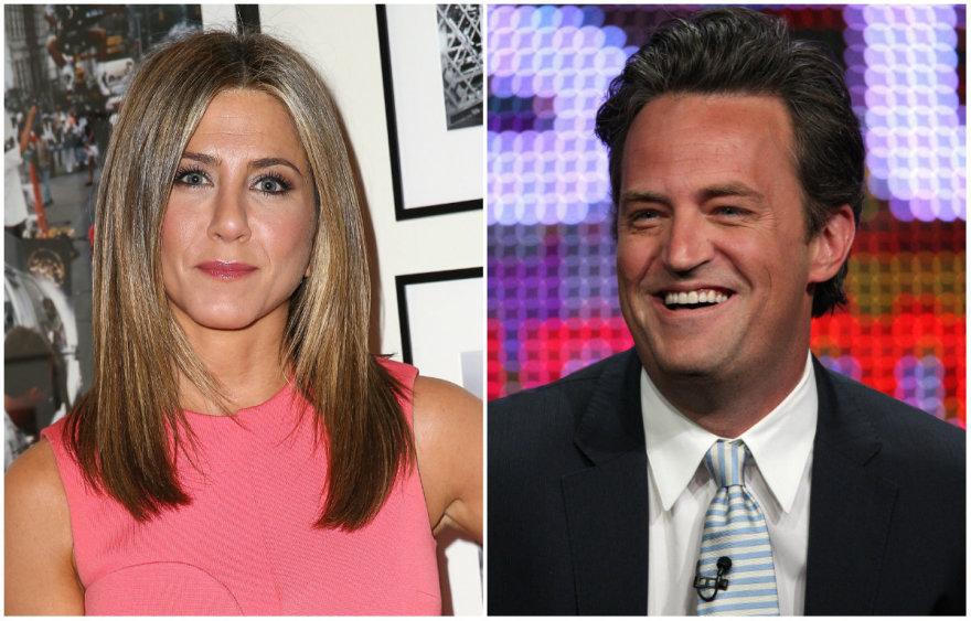 Jennifer Aniston ir Matthew Perry
