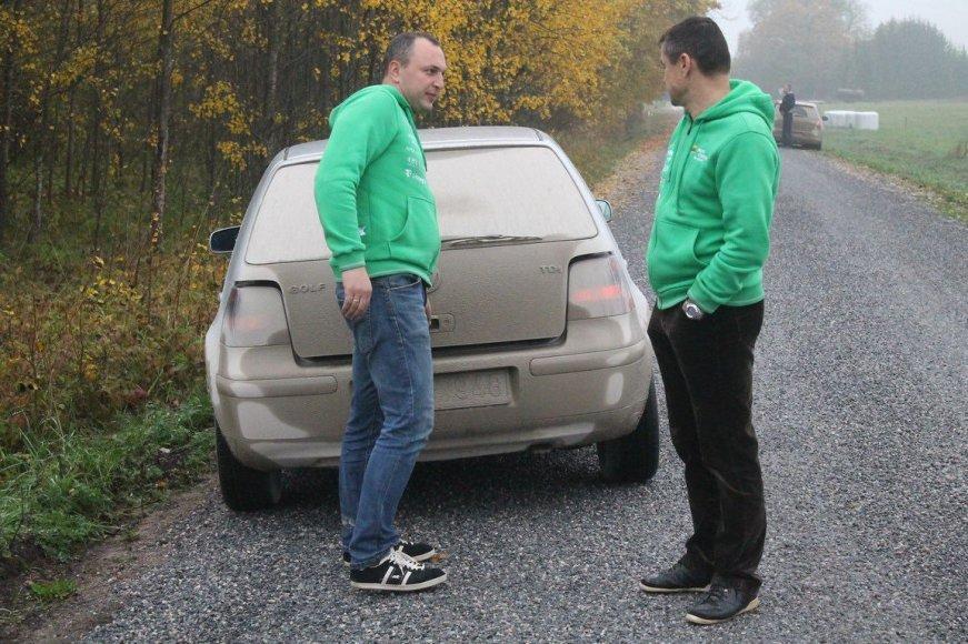 """""""Rally Saaremaa 2014"""" trasų susirašymas"""