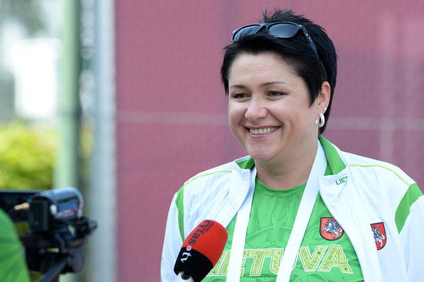 LTOK prezidentė Daina Gudzinevičiūtė