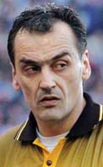 Futbolo teisėjas Dejanas Delevičius