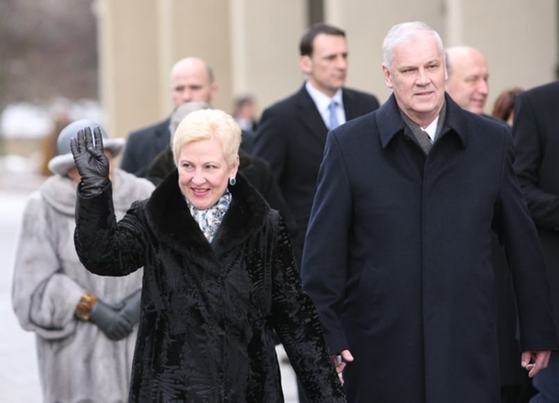 Irena Degutienė ir Gediminas Degutis