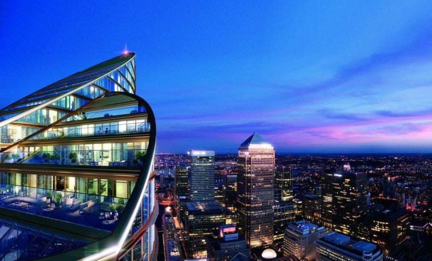 Aukščiausias gyvenamasis pastatas Europoje
