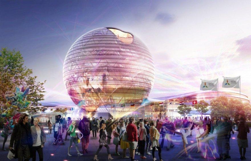 """Parodai """"Expo 2017"""" statomas miestas Kazachstane"""