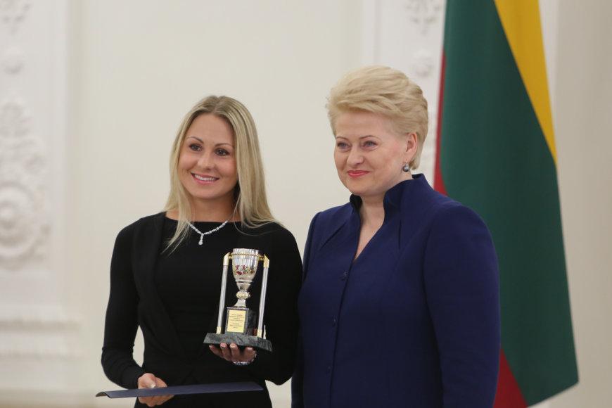 Dalia Grybauskaitė ir Laura Asadauskaitė