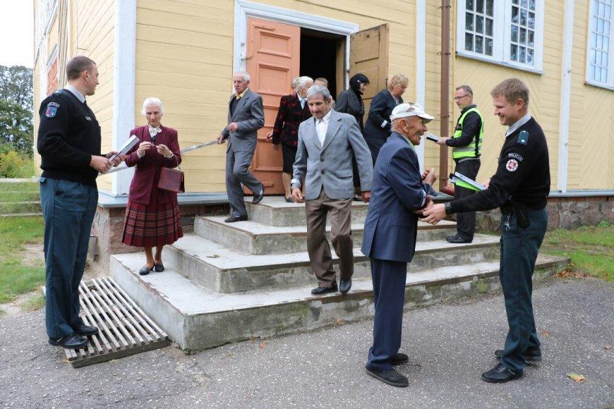 Telšių policijos nuotr./Policijos akcija