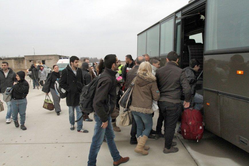Bėgliai iš Sirijos