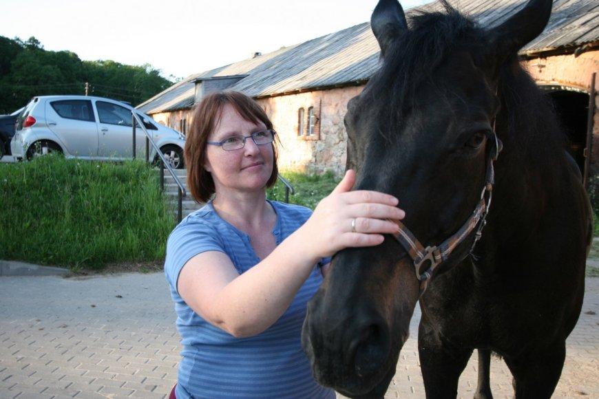 Žirgų terapija. Jurgita Rutkienė.