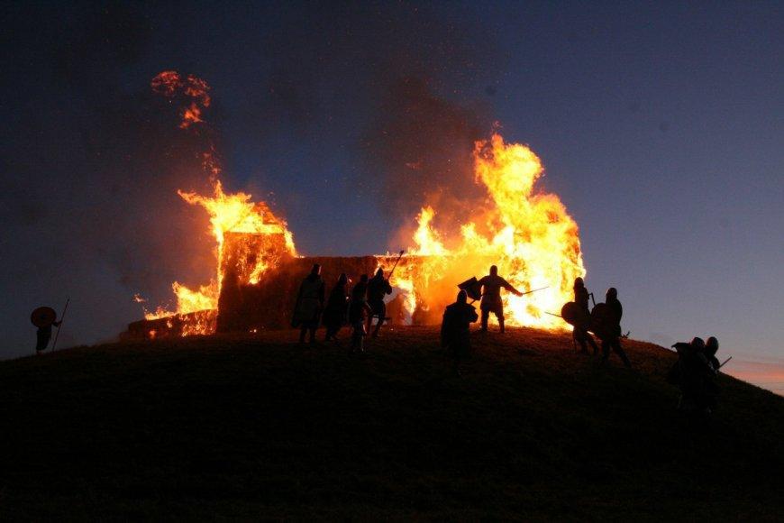Sidabrės miesto sudeginimas