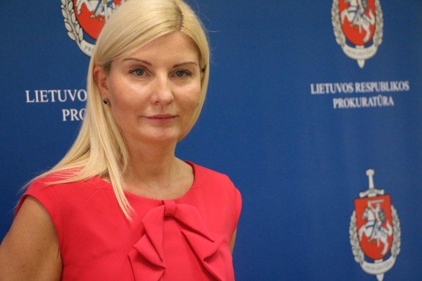 Kauno apskrities VPK nusikalstamų veikų registravimo skyriaus viršininkė Audra Giedraitienė