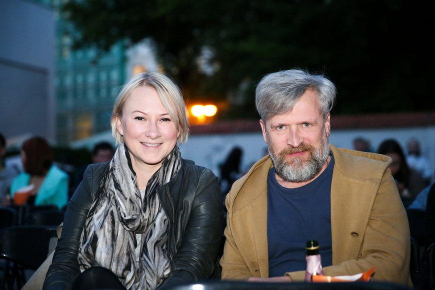 Julija Janulaitytė ir Stasys Baltakis
