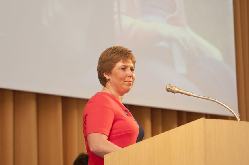 Lietuvos edukologijos universiteto (LEU)  Socialinės edukacijos fakulteto dėstytoja doc. dr. Sigita Burvytė. V. Pilecko nuotr.