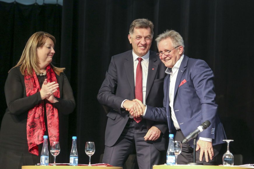 Vilija Blinkevičiūtė, Algirdas Butkevičius ir Algirdas Sysas
