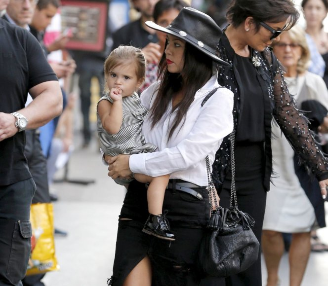 Kourtney Kardashian su dukra Penelope