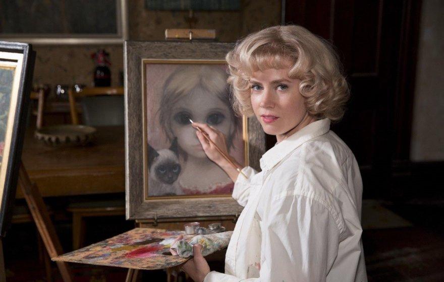 """Amy Adams filme """"Didelės akys"""""""