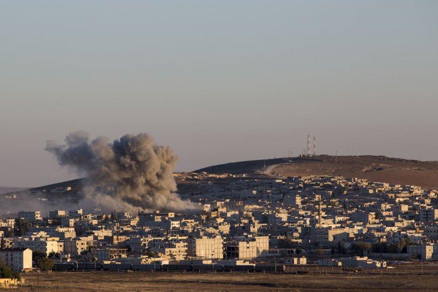 Teroristų šturmuojamas Kobanės miestas
