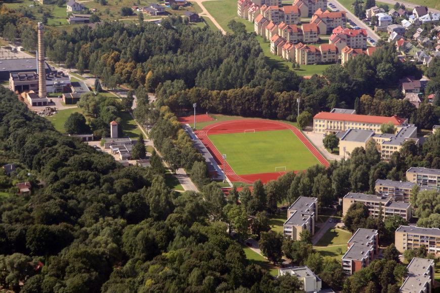 Atnaujintas Birštono stadionas