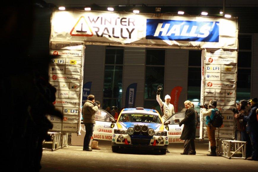 """""""Halls Winter Rally"""" atidarymas"""