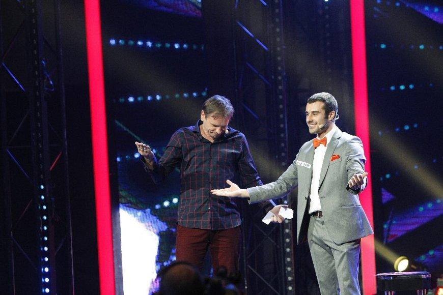 Antonas Lavrentjevas ir Marijonas Mikutavičius