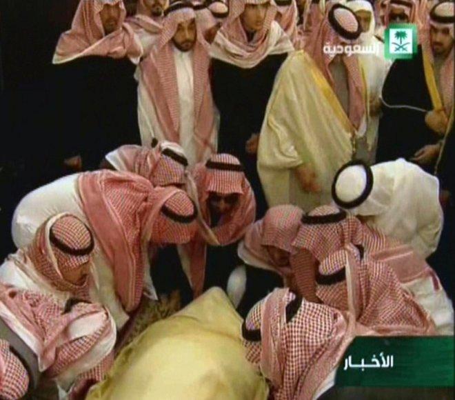 Saudo Arabijos karaliaus Abdullah laidotuvės