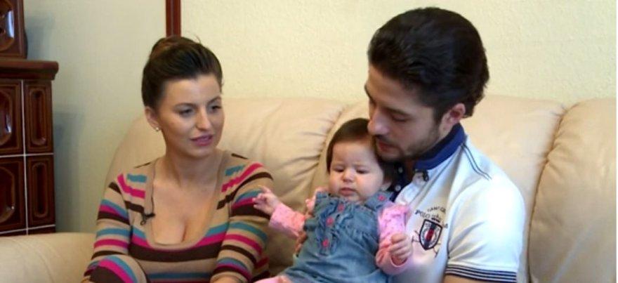Vytautas Mackonis su šeima