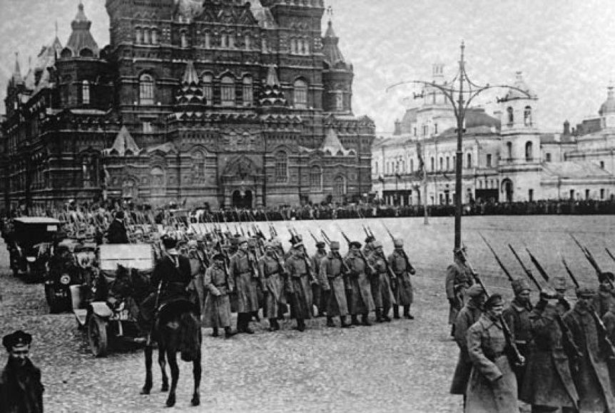 Bolševikų karinės pajėgos 1917 metais