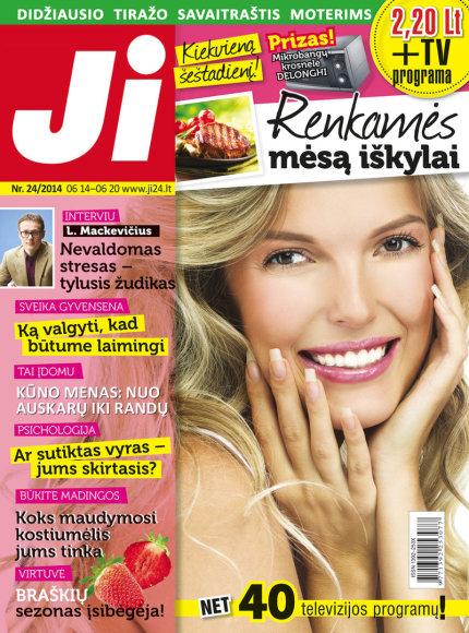 """2014 m. birželio mėnesio žurnalo """"Ji"""" Nr. 24"""