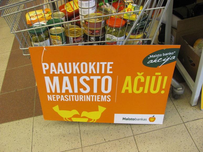 """""""Maisto banko"""" akcija"""