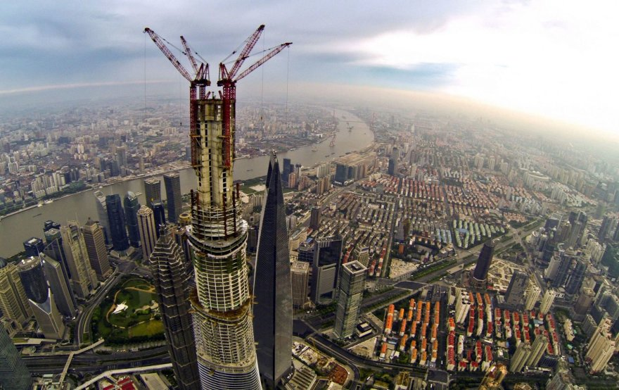 Dangoraižis Šanchajuje