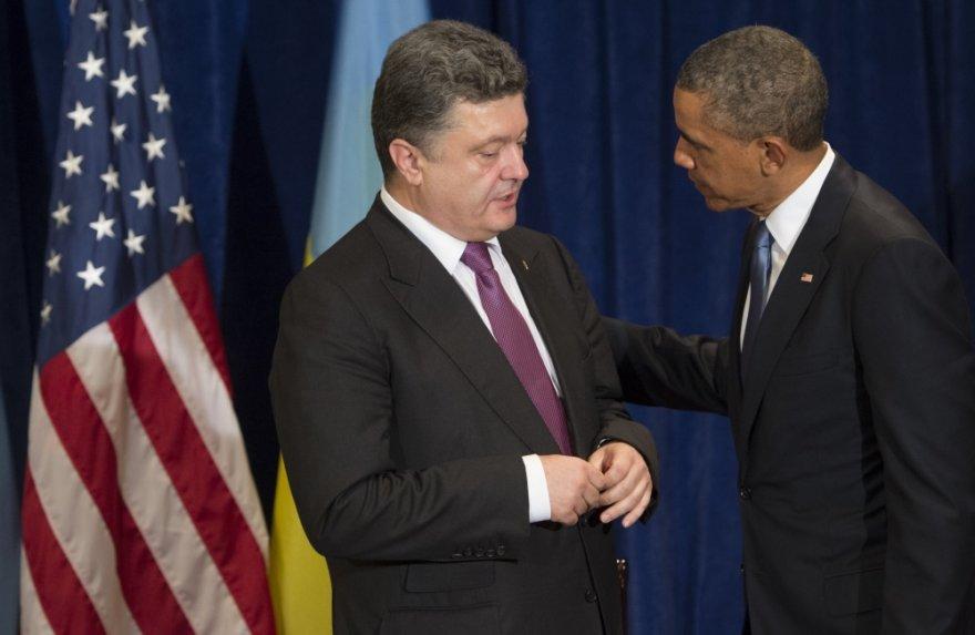 Petro Porošenka ir Barackas Obama