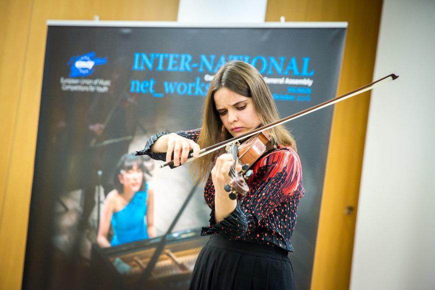 Tarptautinių EMCY konkursų laureatė Rūta Mažolytė