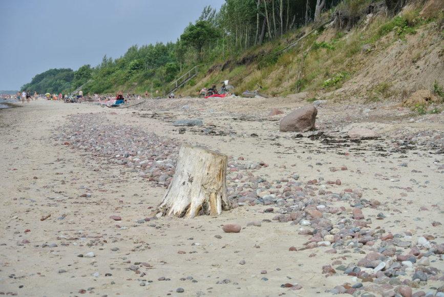 Karklės paplūdimys, Olando kepurė